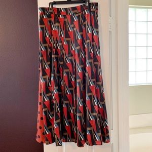 Zara Multi Color Skirt SZ M